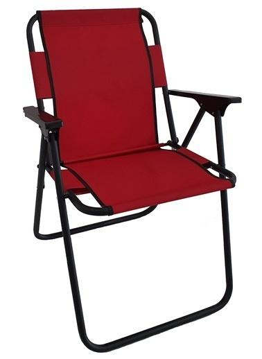 Bofigo Bofigo Kamp Sandalyesi Katlanır Sandalye Piknik Sandalyesi Plaj Sandalyesi Yeşil Kırmızı